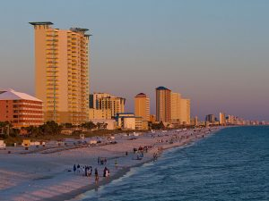 The Florida Beachline if full of condos and vacation rentals